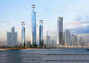 369米 青岛第一高楼海天中心刷新青岛高度