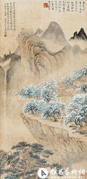 组图 民国三大美女画家的艺术作品欣赏