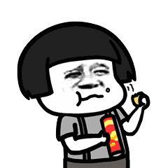 大过年的,京东生鲜你发这些馋人的表情包是什么意思