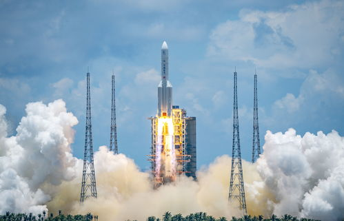7月23日,天问一号探测器发射升空