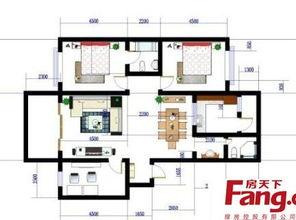 180平方房子装修图 房天下装修效果图