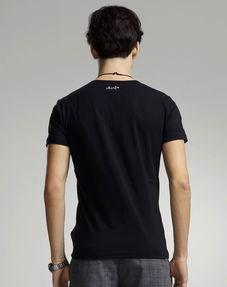 ...f4男女装男士黑色 t恤 21121121...