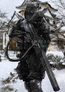 未来战士-概念画师原创科幻设定公布
