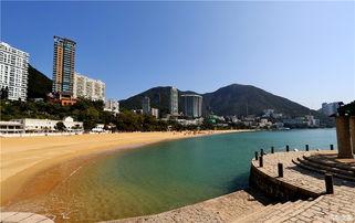 浅水湾和深水湾 香港旅游八景之一