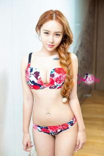 U125 欣杨Kitty 比基尼泳装与性感内衣 湿身诱惑 私房写真集 7