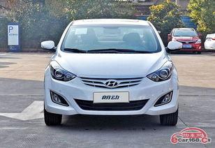 经典城市轿车 北京现代朗动优惠5万元