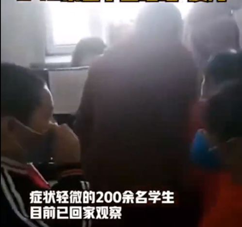 哈尔滨4所学校240名学生出现不同程度呕吐腹泻,事故原因调查中