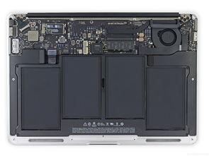 新MacBook Air完全拆解 内部设计无改变