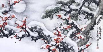 有关雪和梅花的诗句