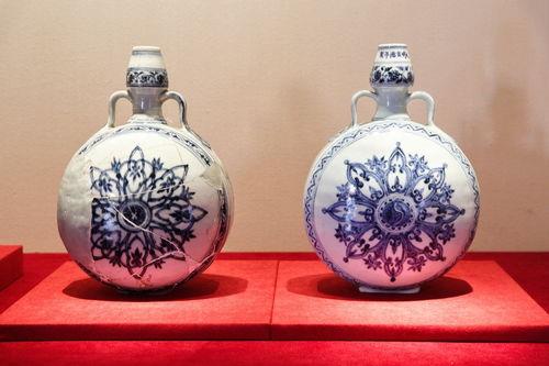 故宫博物院联合景德镇举办明代御窑瓷器系列对比展