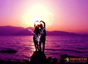 祝福爱情唯美的句子