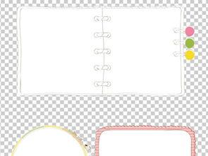 卡通边框幼儿园花边素材可爱png 16586306 其他