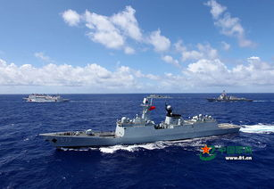 砺剑夏威夷回顾中国海军环太演习表现组图
