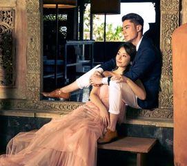 霍建华和林心如婚纱照