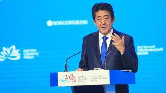 资料图片:日本首相安倍晋三.