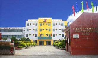 广东省电子商务技师学院的校园风光 学生生活区图片展示