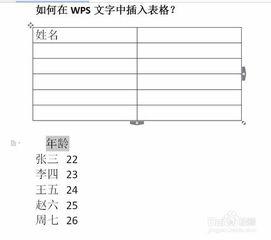wps如何將表格轉化成文本
