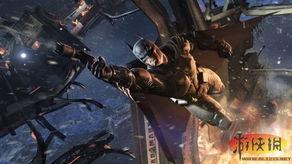 蝙蝠侠 阿甘起源 DLC海报 丧钟手握蝙蝠衣