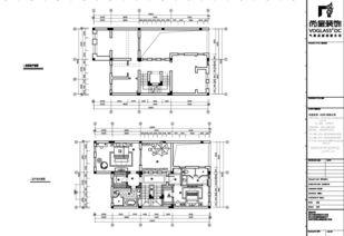 CAD快速制图——怎么给CAD别墅设计图纸新建图层