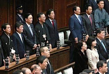 1月24日,日本首相安倍