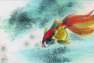 金鱼有关的诗词