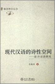 现代汉语的诗性空间新诗话语研究
