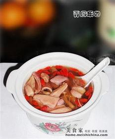 猪肚汤的药膳做法大全