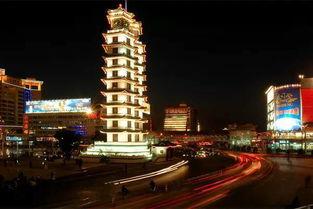 ▼二七纪念塔,郑州的地标建筑▼