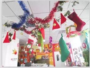 最全的幼儿园圣诞环创来了 主题墙 门窗 吊饰