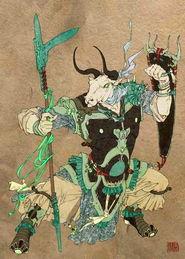 传说中十位仙妖鬼