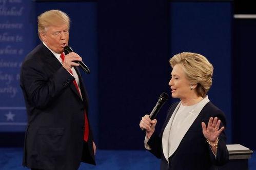 特朗普希拉里互相攻击美国大选第二场总统辩论史上最丑陋