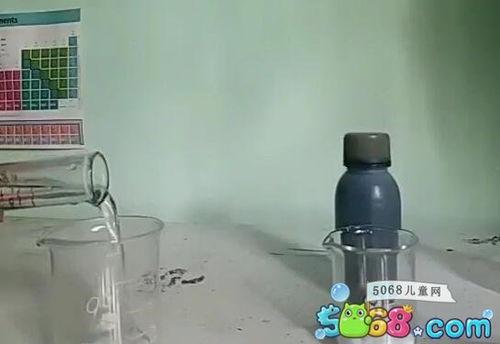化学简单有趣易操作的实验