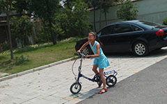 自行车比赛300字作文