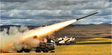 图片:7月19日央视军事报道公布的西藏军区某炮兵团的远程火箭炮实弹射击的视频截图.