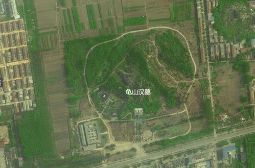 忻城風水寶地衛星圖