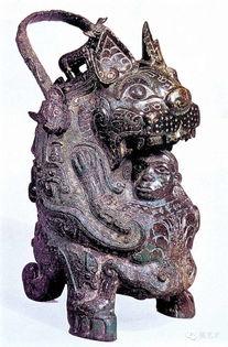虎卣商代后期泉屋博古馆藏