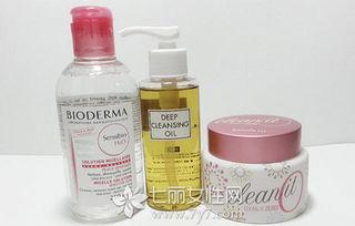 卸妆水跟卸妆膏
