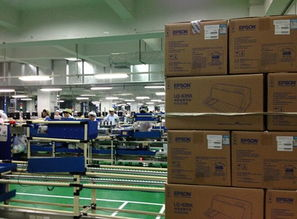 爱普生打印机服务万里行走进福州工厂