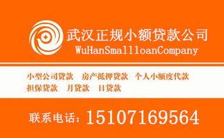 正规小额贷款(及时雨小额贷款可信正)