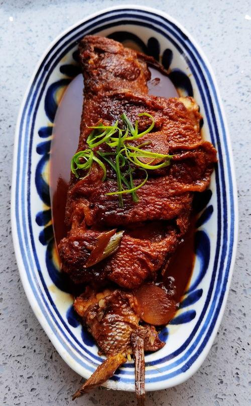 蜜汁煎烧鱼  蜜汁鱼的做法