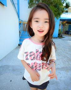 韩国6岁萝莉模特走红