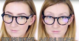化妆怎么能把眼镜画大