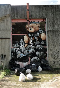 Fintan Magee的街头涂鸦作品 4