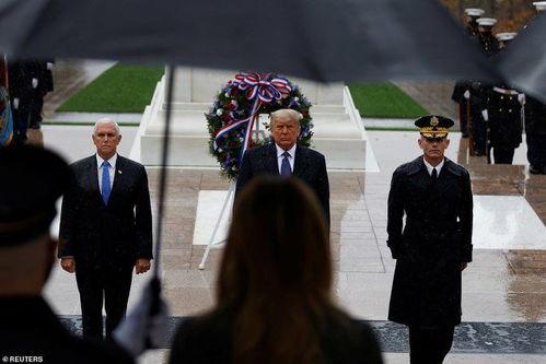 特朗普现身,表现出一副兴致缺缺的样子近日,美国现任总统正式在拜登宣布获胜获胜之后现身,特朗普这次现身是为了参加纪念退伍军人节的庄严仪式.