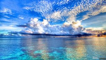 夏日海边大图片背景