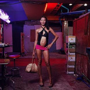 变性人社会边缘的泰国人妖图