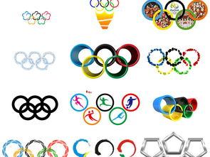 各种创意奥运五环免抠透明设计素材