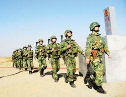 10月14日,中国边防部队开始按双方勘定的国界线在黑瞎子岛履行防务.