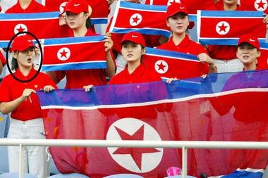 朝鲜第一夫人李雪主旧照曝光 组图