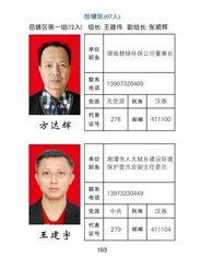 湖南湘潭公布省市人大代表联系方式 包括省委书记电话